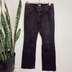 • CABI JEANS • black denim boot cut jeans